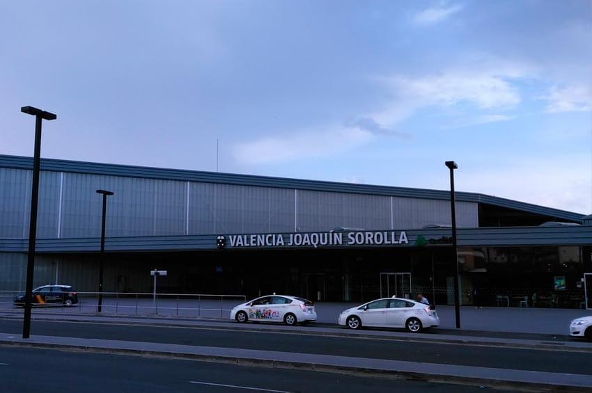 Estación de tren Pintor Joaquin Sorolla